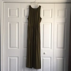 Old Navy Maxi Dress - Olive Green Color